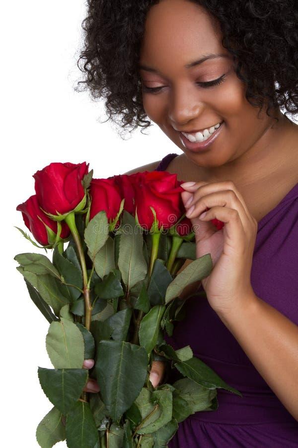 róży czerwona kobieta zdjęcie stock