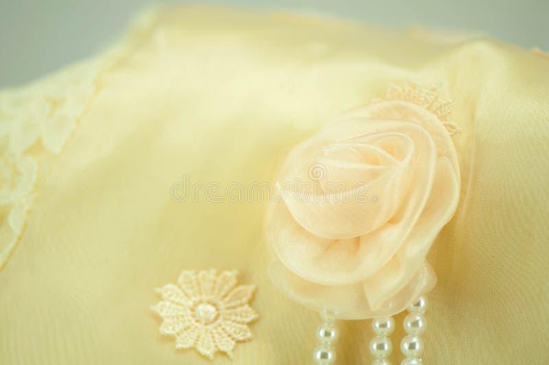 Róży koronki miękka ostrość obrazy stock