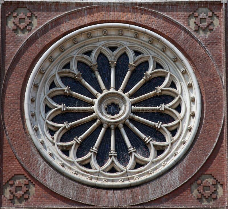 Download Różany okno obraz stock. Obraz złożonej z element, zabytek - 28969643