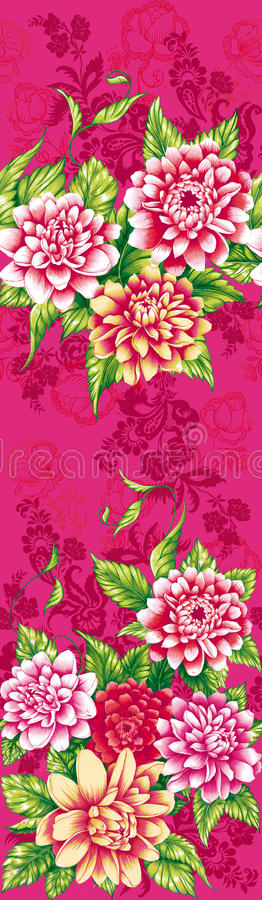 Download Różowi peonia kwiaty ilustracji. Ilustracja złożonej z obraz - 28973539