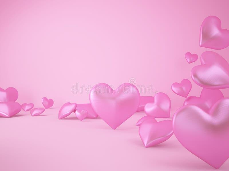 Download Różowy serce zdjęcie stock. Obraz złożonej z twórczość - 28965798