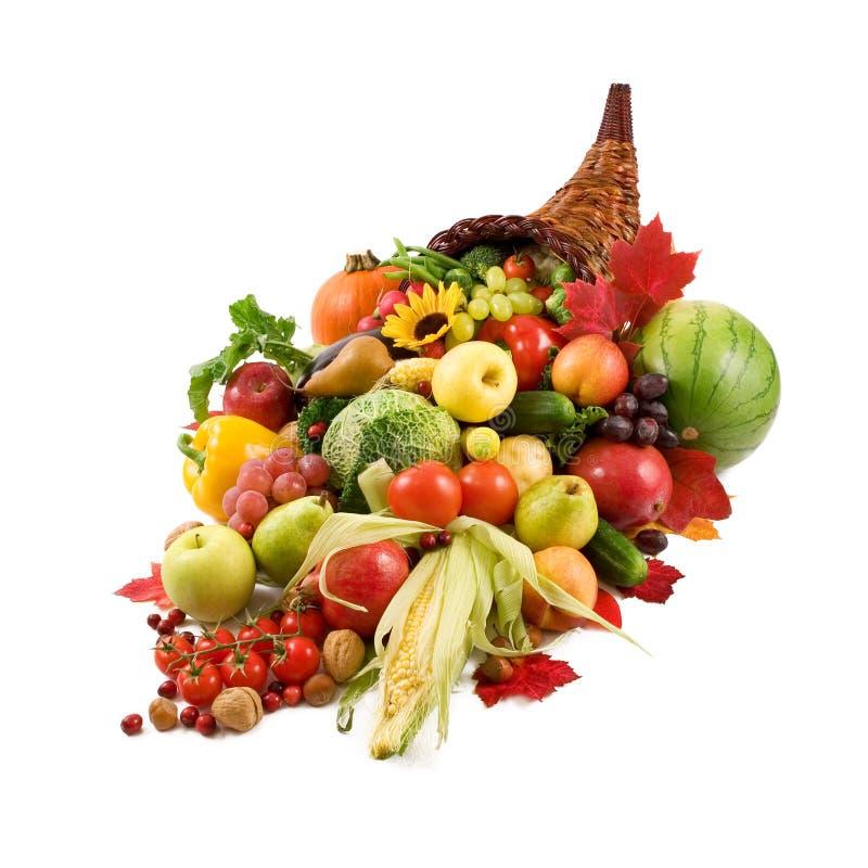 róg obfitości jesienią zdjęcia royalty free