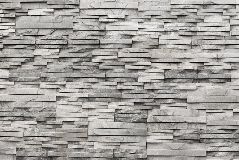 Rówieśnik ściana jasnopopielaty, naturalny kamień, struktura zdjęcia stock