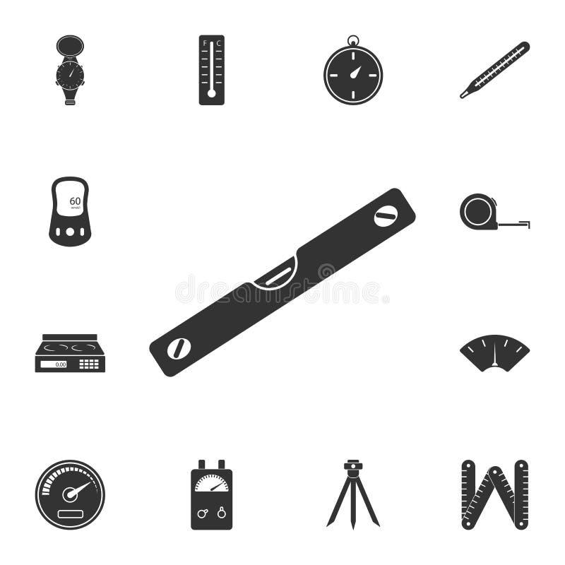Równa ikona Prosta element ilustracja równy symbolu projekt od Pomiarowego kolekcja setu Może używać w sieci i wiszącej ozdobie ilustracji