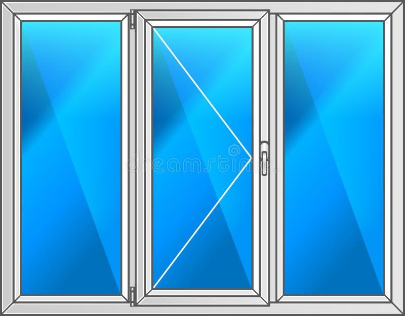 również zwrócić corel ilustracji wektora Planu klingerytu okno obrazy royalty free