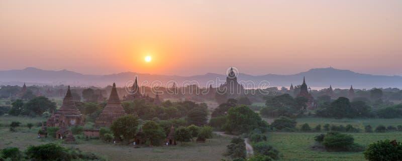 Równina Mandalay Bagan, Myanmar (poganin) obrazy stock