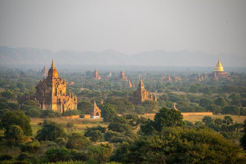 Równina Mandalay Bagan, Myanmar (poganin) fotografia royalty free