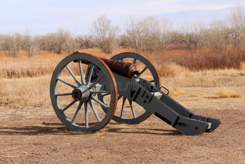 Równiny Otacza Przegiętemu ` s Starego fort Krajowy Historyczny miejsce obraz stock