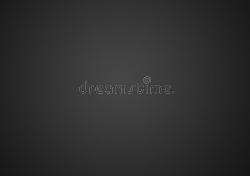 Równiny popielaty lub czarny gradientowy tło ilustracja wektor