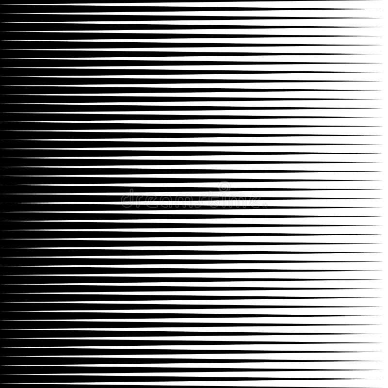 Równoległego linia prosta monochromu wzoru geometryczna tekstura ilustracja wektor