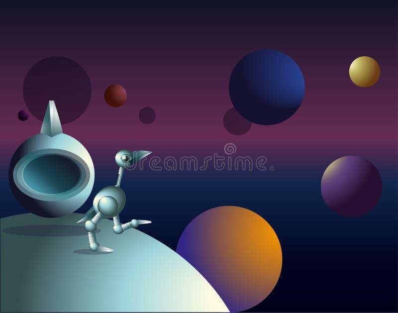 Równoległy wszechświat ilustracji