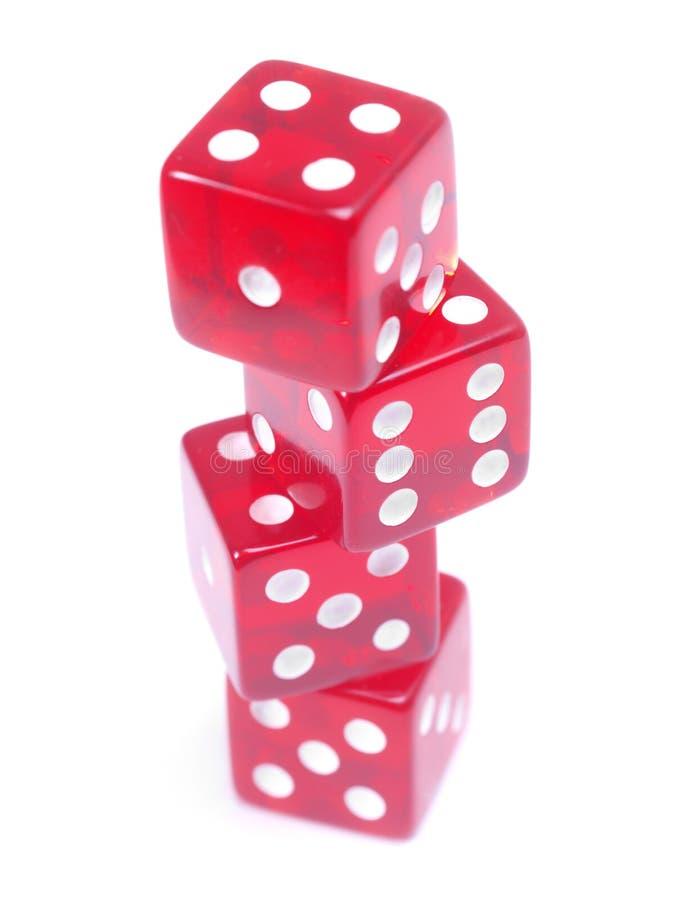 równoważeń kostka do gry obraz royalty free