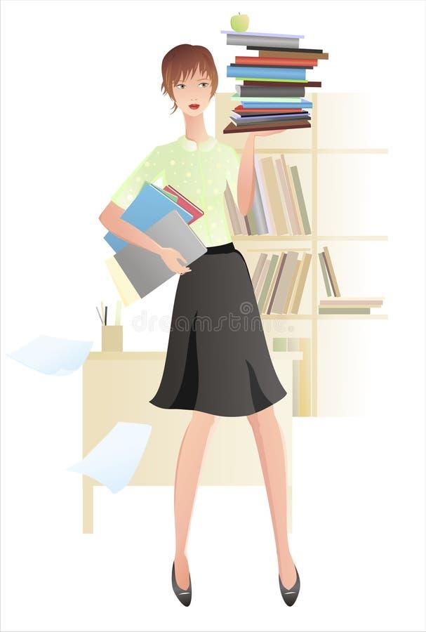 Download Równoważenie Rezerwuje Dziewczyny Ilustracja Wektor - Ilustracja złożonej z ruchliwie, mienie: 13339796