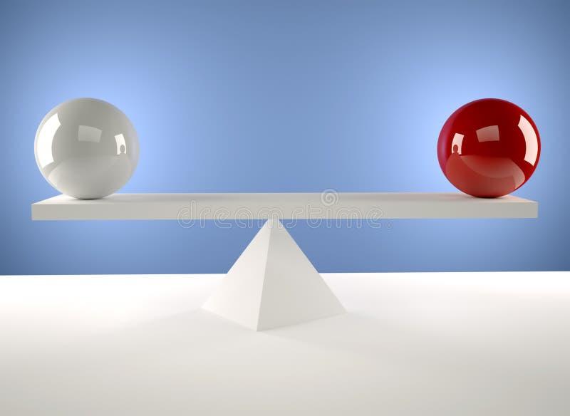 równowaga ilustracji