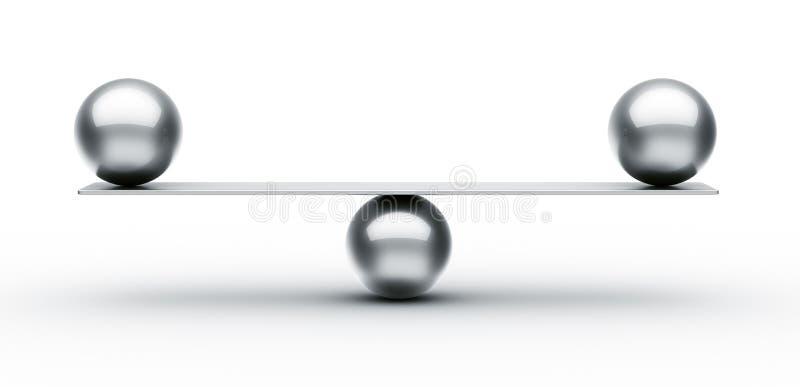 równowaga ilustracja wektor