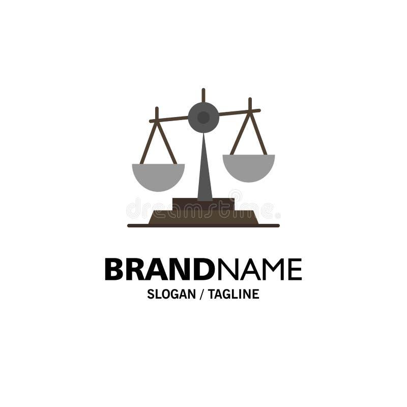 Równowaga, sąd, sędzia, sprawiedliwość, prawo, Legalny, skala, Waży Biznesowego logo szablon p?aski kolor royalty ilustracja
