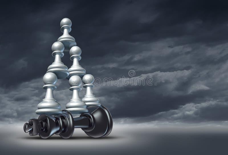 Równowaga Sił royalty ilustracja