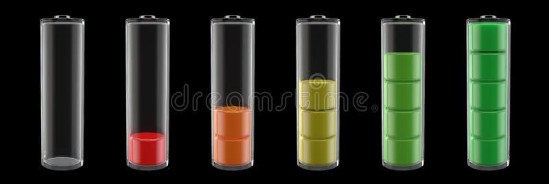 równych (0) baterii 100 obrazy royalty free