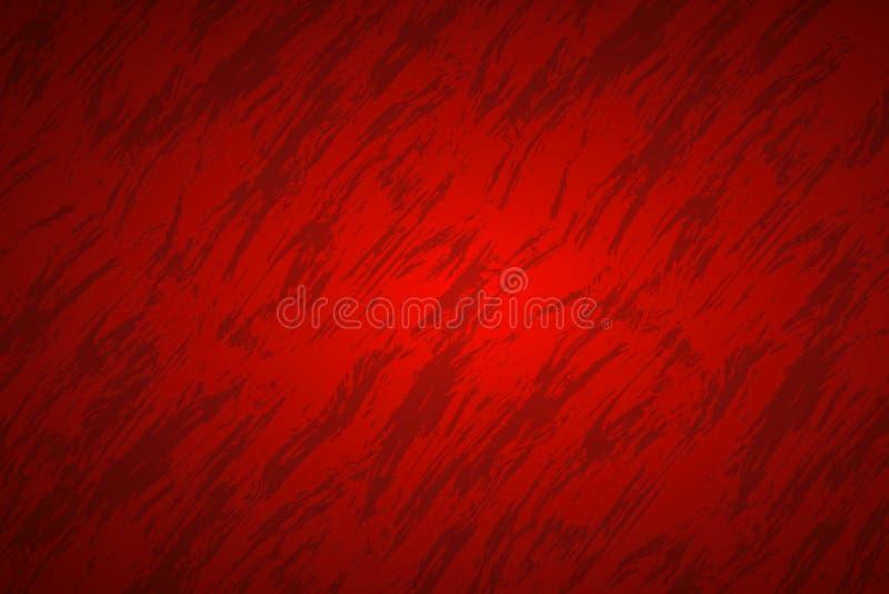 Röd abstrakt bakgrund med mörka strimmor vektor illustrationer