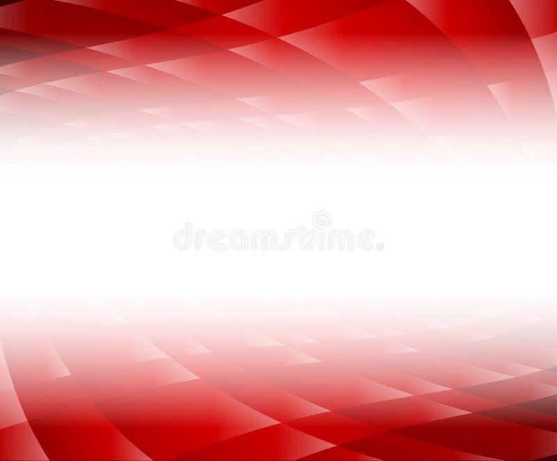 Röd bakgrund stock illustrationer