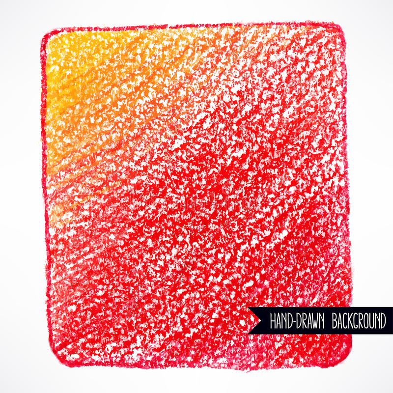 Röd bakgrund för blyertspenna royaltyfri illustrationer