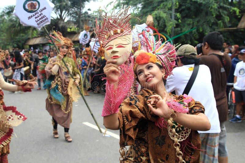 Röd Batik royaltyfri foto