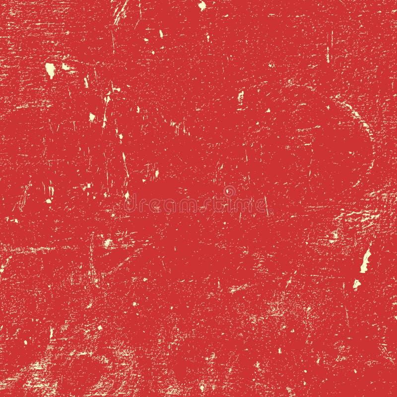 Röd bekymrad målarfärg vektor illustrationer
