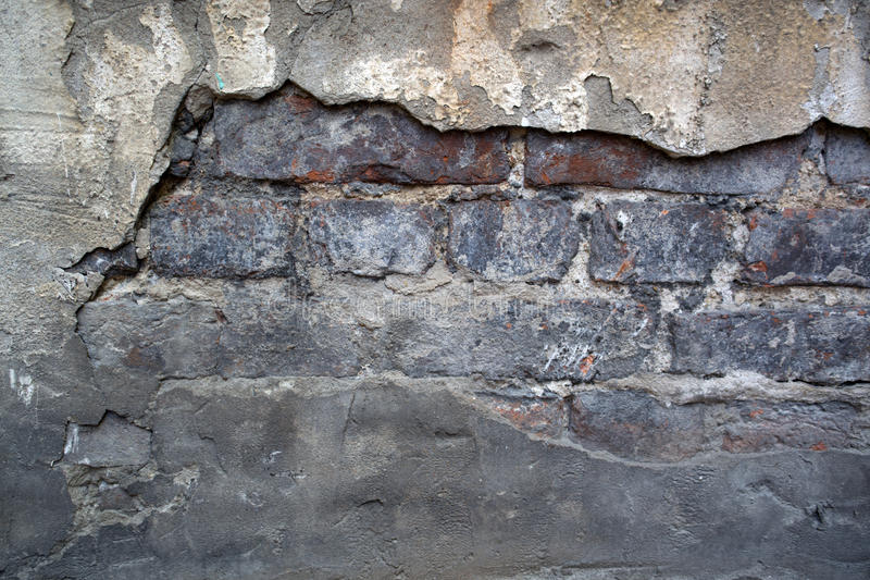 Röd brun brickwallbakgrund arkivbilder
