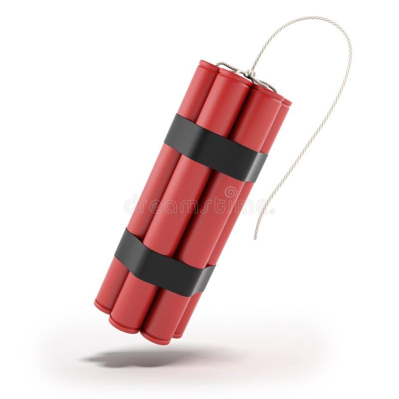 Röd dynamit stock illustrationer