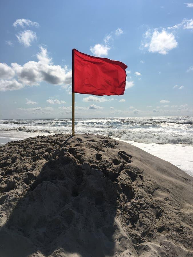 Röd flaggmärkesdag arkivfoton