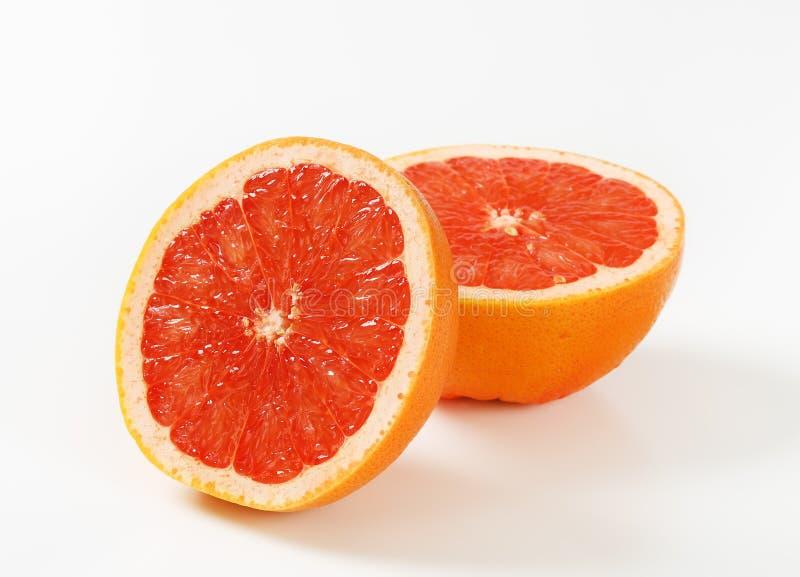 Röd grapefrukt fotografering för bildbyråer