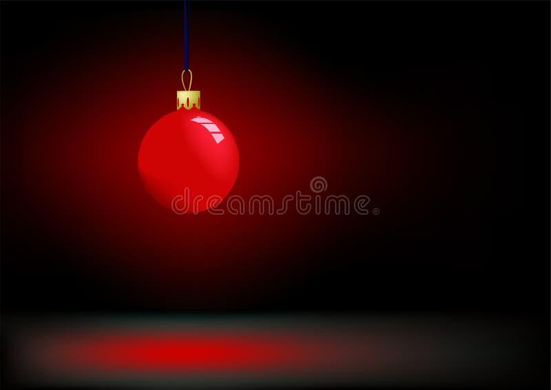 röd jul stock illustrationer