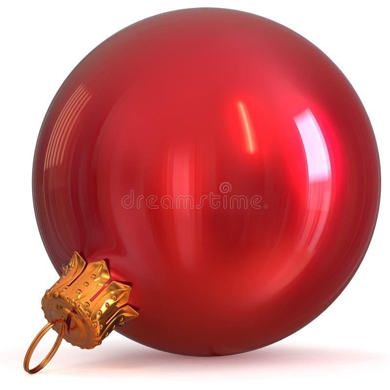 Röd jul klumpa ihop sig souvenir för helgdagsaftonen för ` s för det nya året för struntsakgarnering stock illustrationer