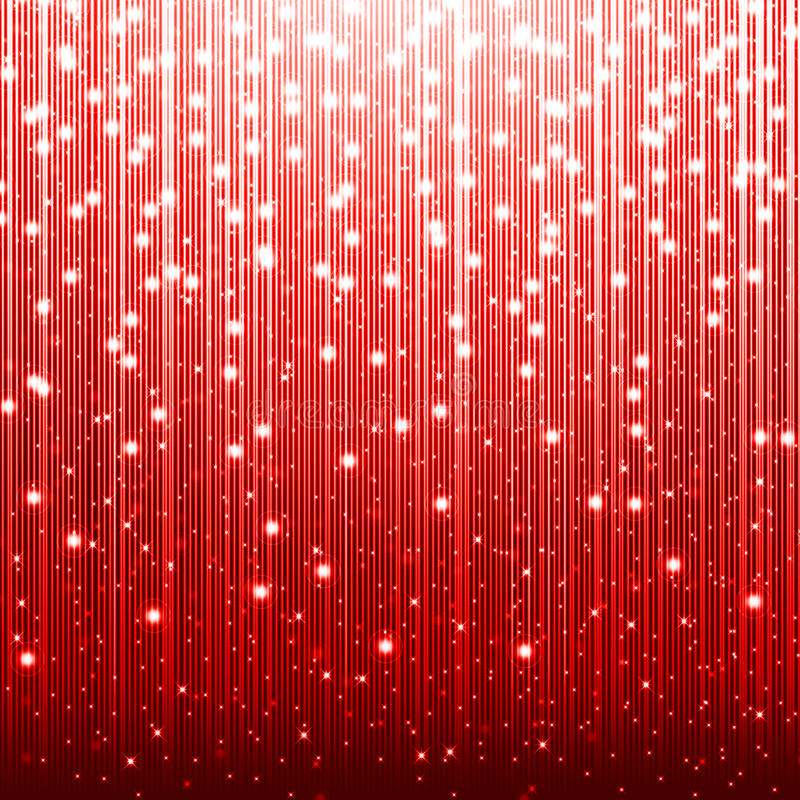 Röd julbakgrund royaltyfri illustrationer