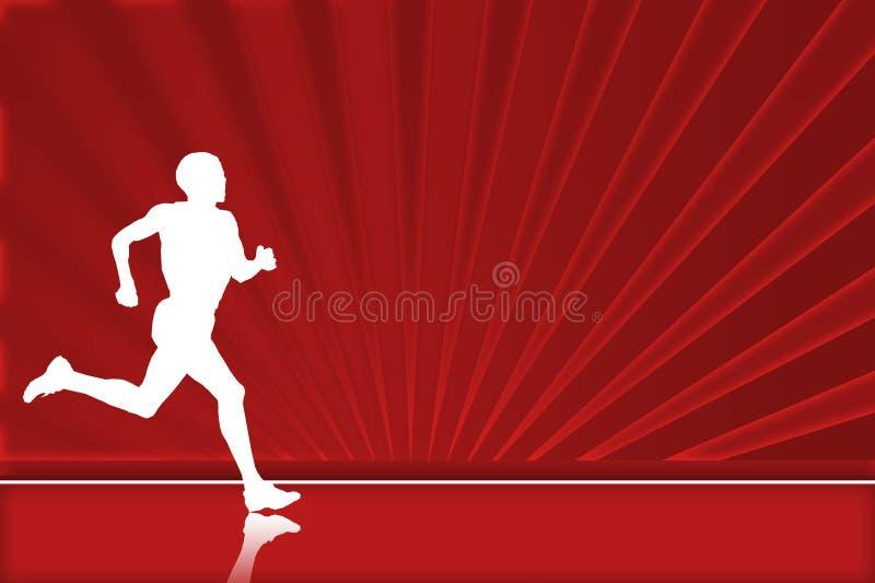 röd löpare arkivbilder