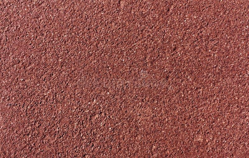 Röd målad asfaltbakgrund och textur fotografering för bildbyråer