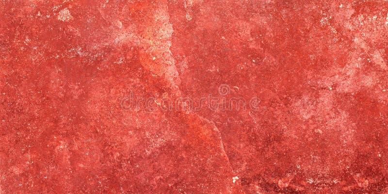 Röd marmor, naturlig röd marmorbakgrund för tegelplattor planlägger, den lantliga marmorgolvdesignen arkivbild