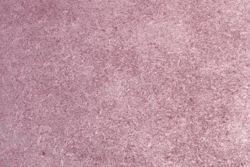 Röd metallisk målad träflismaterialtextur för tappning - gullig abstrakt fotobakgrund fotografering för bildbyråer