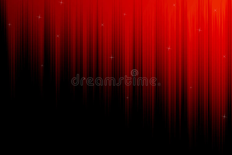 Röd och svart bakgrund royaltyfri illustrationer