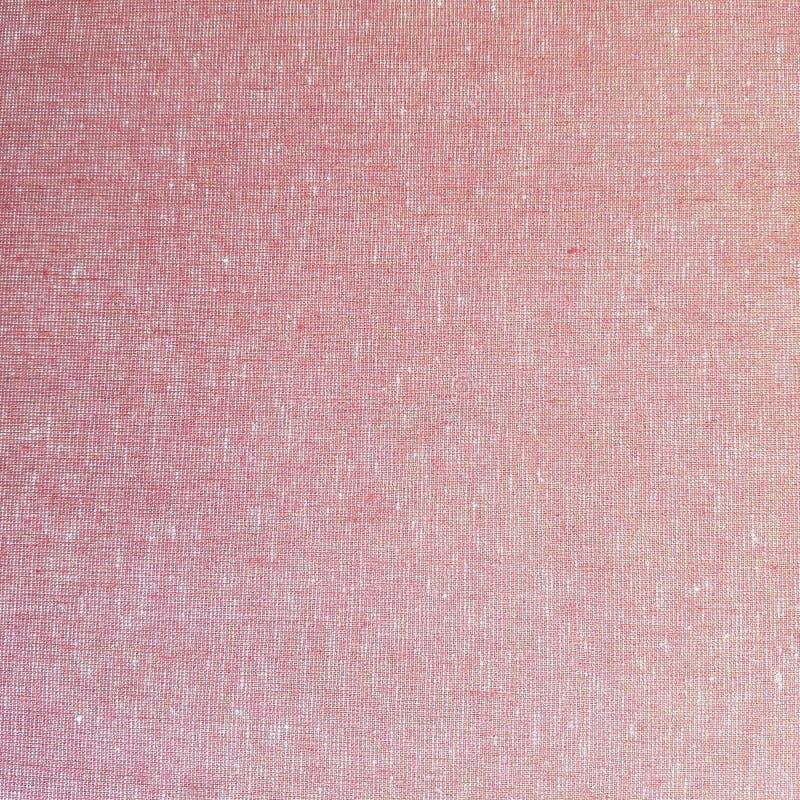 Röd och vit tygtextur arkivbild
