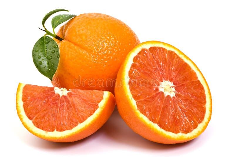 Röd orange fruktsammansättning arkivfoto