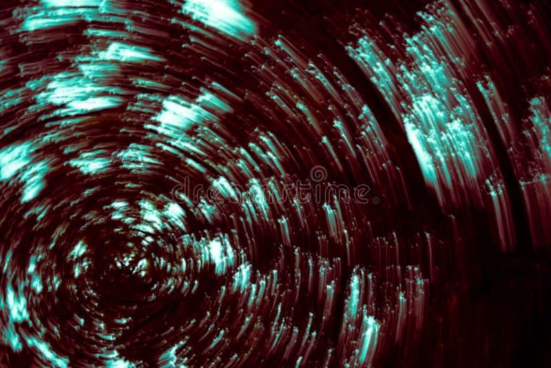 Röd oskarp abstrakt bakgrund för runda former vektor illustrationer