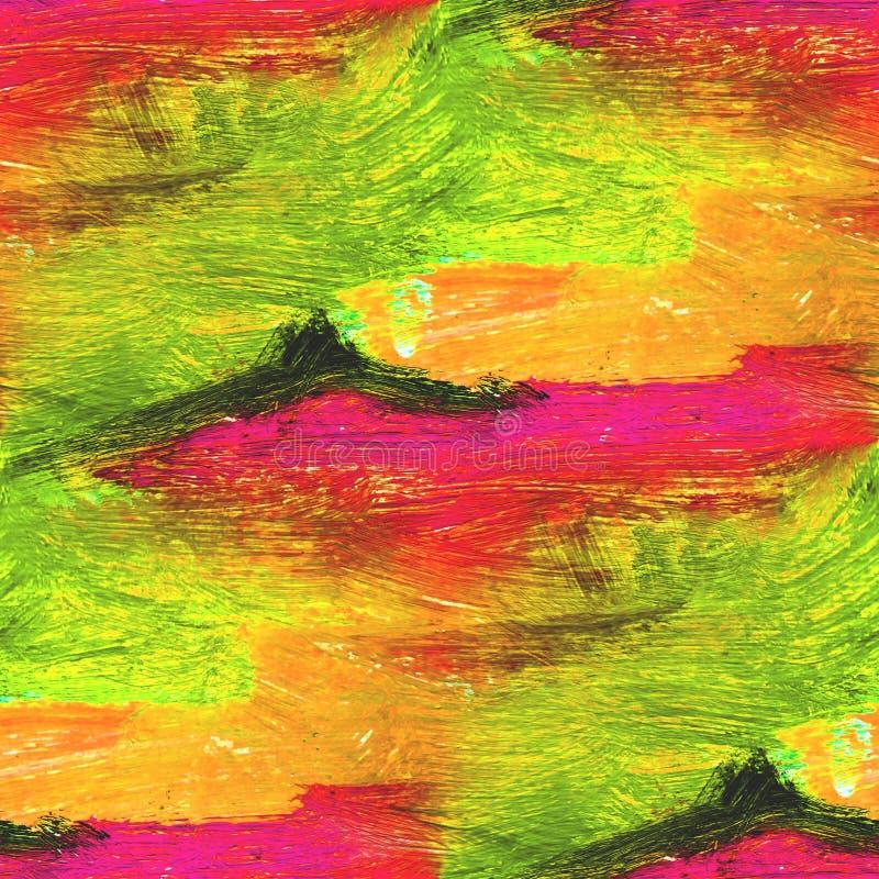 Röd palett, gräsplan, sömlös gul bild arkivbilder