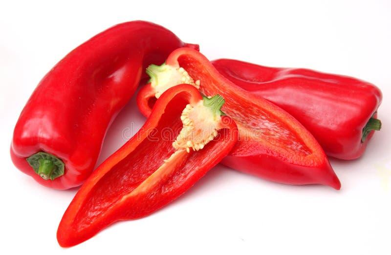 Röd paprika arkivfoto