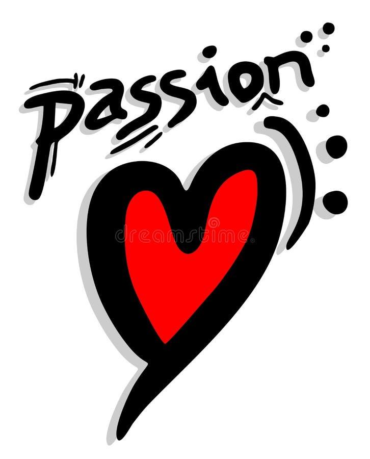 Röd Passion Vadderar Royaltyfri Fotografi