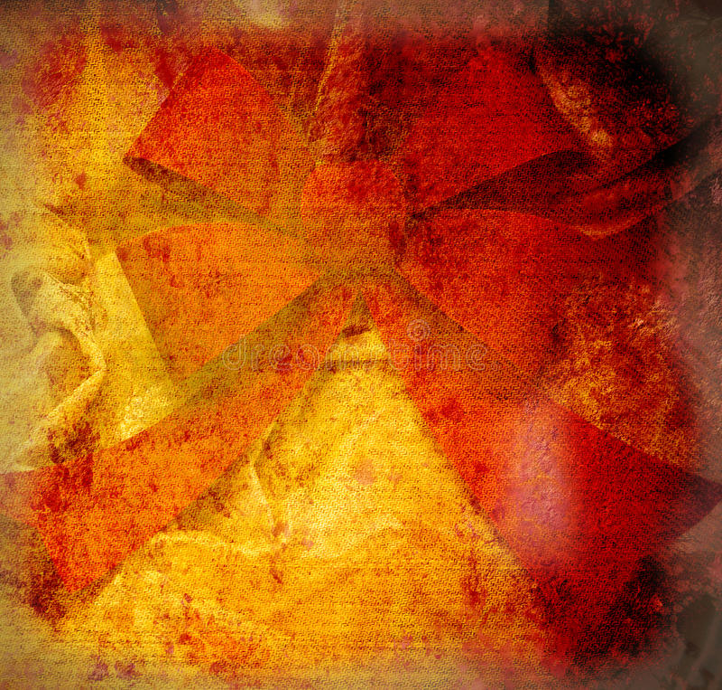 Röd pilbågefnurratappning utformar royaltyfri bild