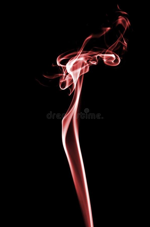 röd rök royaltyfria bilder