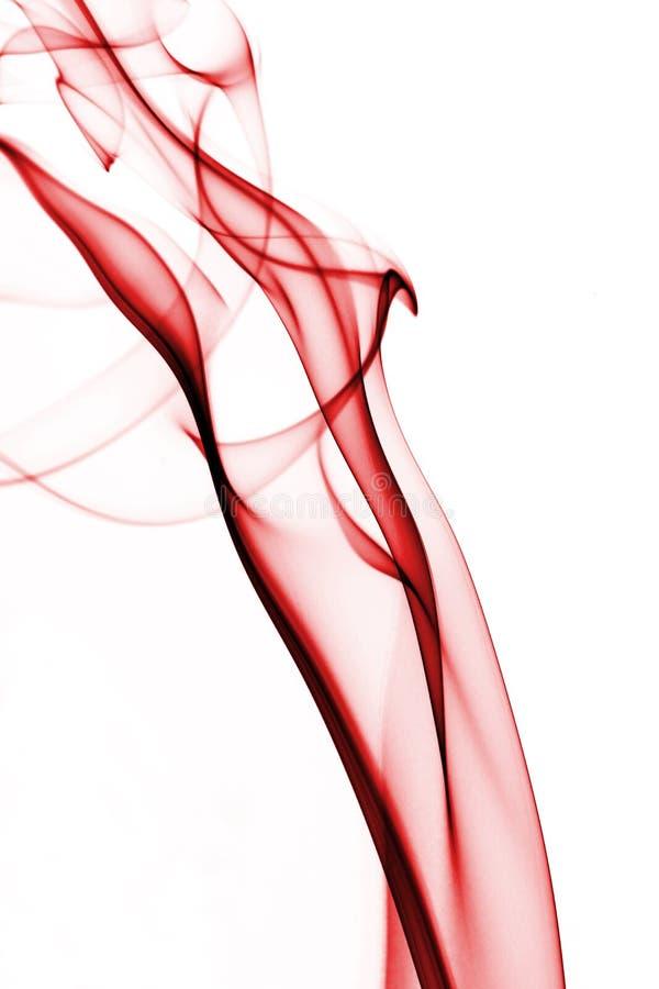 röd rök royaltyfri foto