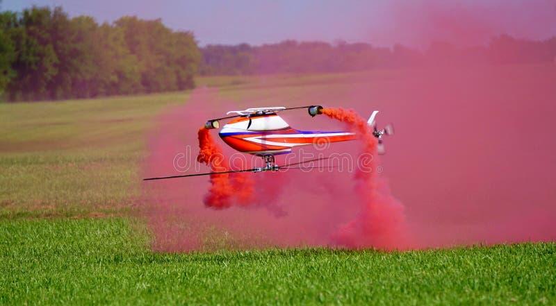 Röd rök & RC-helikoptrar