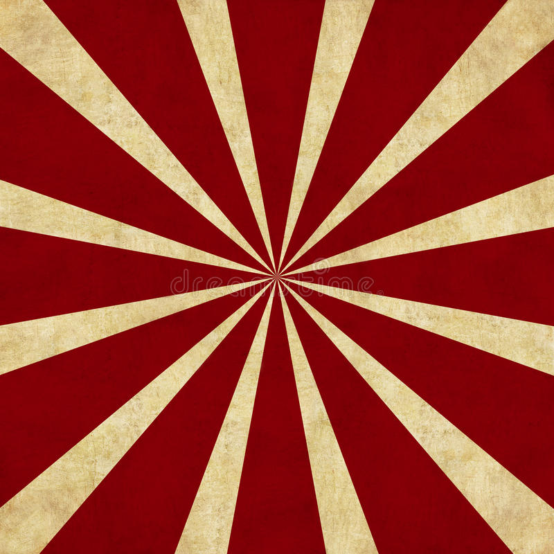röd retro starburst för bakgrund royaltyfri illustrationer